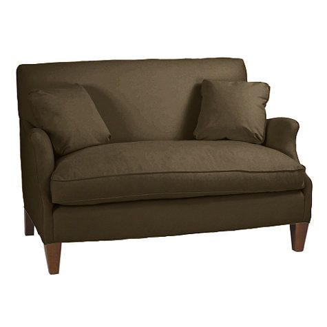 Hudson Upholstered Settee Ballard Settee Love Seat Home Decor