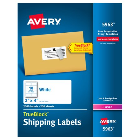 office supplies in 2019 avery shipping labels avery. Black Bedroom Furniture Sets. Home Design Ideas