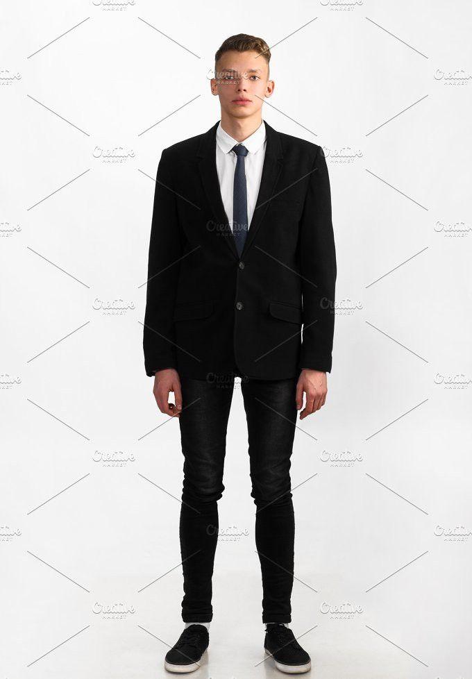 young stylish businessman. People Photos
