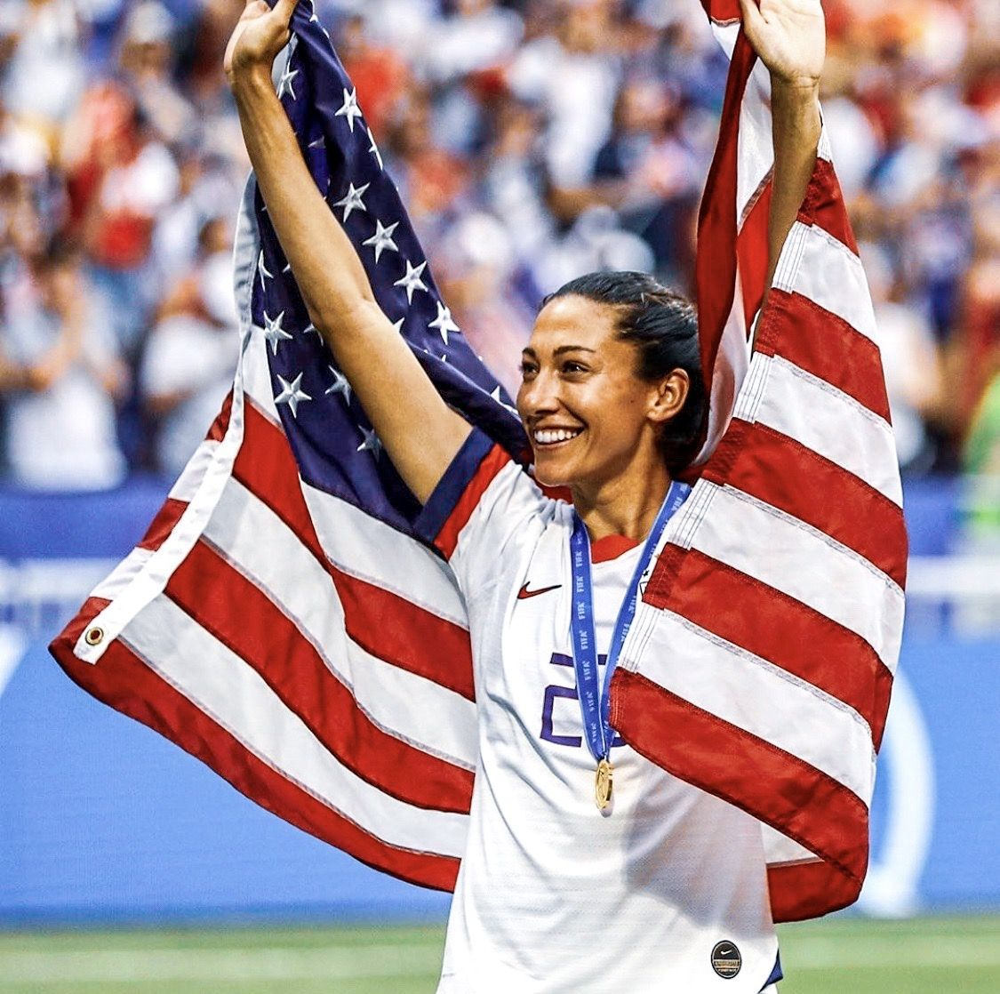 Christen Press 23 Uswnt 2019 Fifa Women S World Cup France In 2020 Fifa Women S World Cup Uswnt Women S World Cup