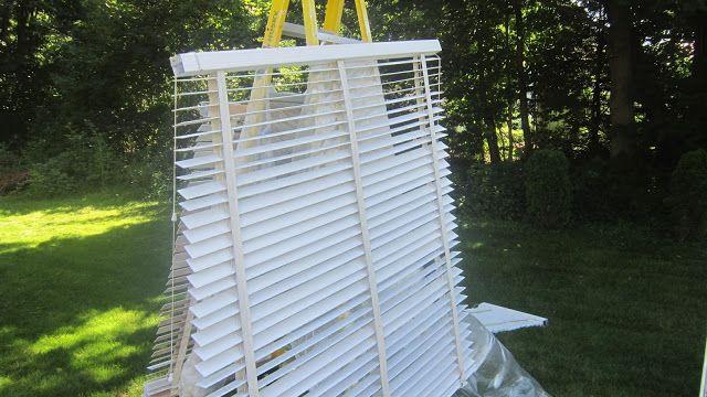 Design Megillah Painting Wood Blinds Diy Home Wood