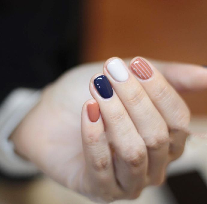 Be different when choosing your nail color.