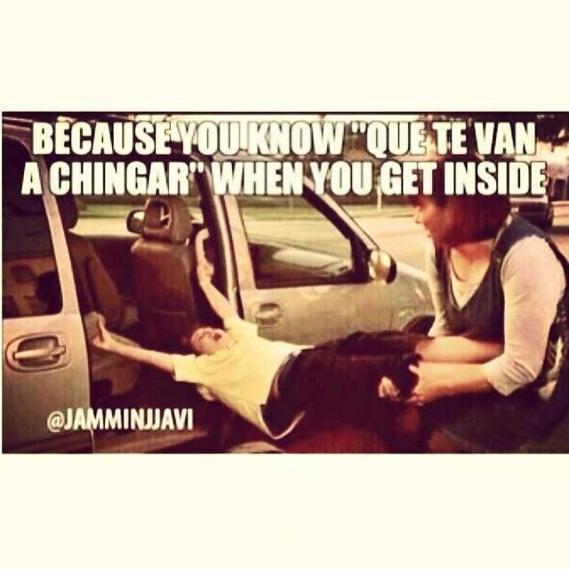 You gonna get the chancla!!