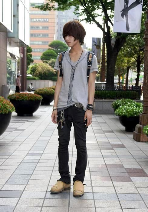 Japanese Street I Can Use This Fashion For An Anime Character I
