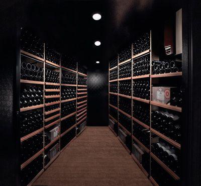 Cave extensible de plain-pied | Architectes Du Vin | Wine Cellar ...