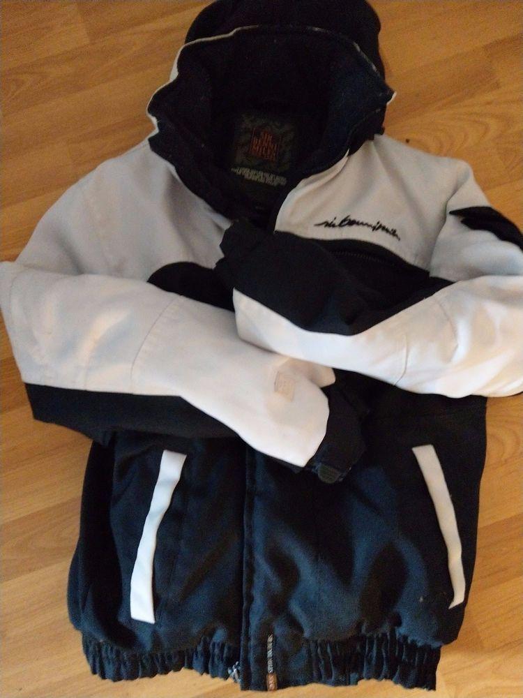 Sir Benni Miles Winterjacke schwarz weiß - Size M - Herren Junge Jacke    Kleidung   Accessoires, Herrenmode, Jacken   Mäntel   eBay! 60950a0cca