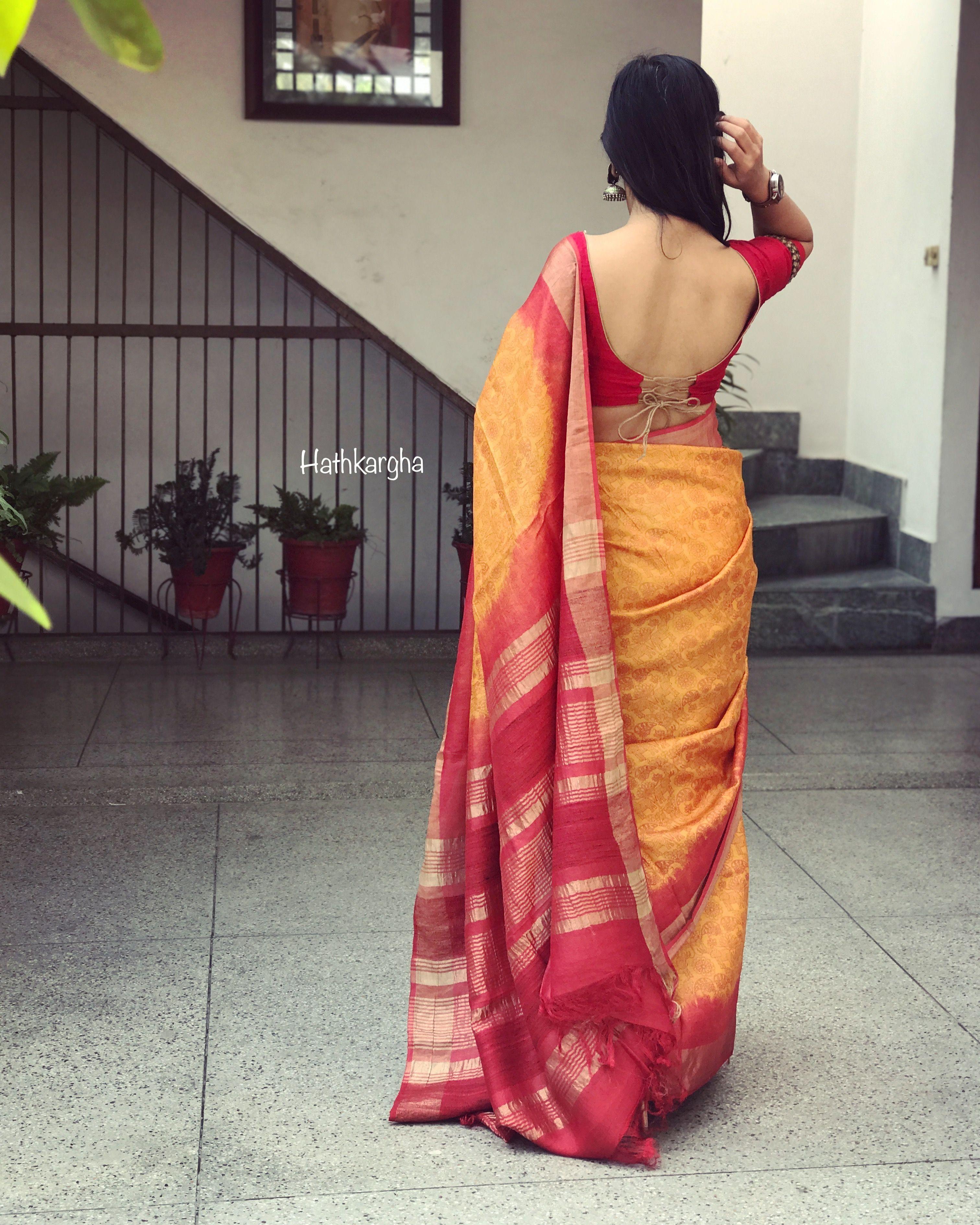 2c76e45315c9a6 Handloom love | Indian Beauty in 2019 | Blouse designs, Saree dress ...