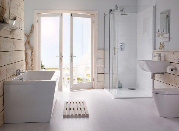 Salle de bain ouverte sur jardin : Une déco inspirée de la ...