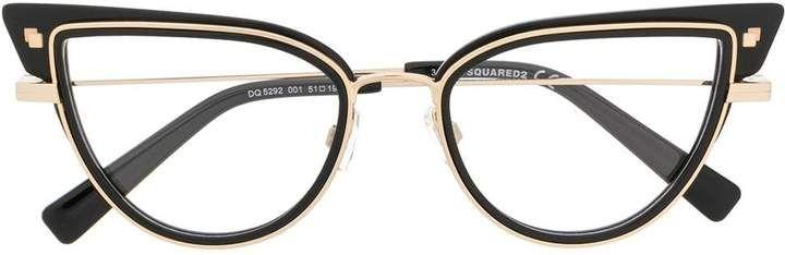 Dsquared2 Eyewear Cat Eye Glasses – Farfetch