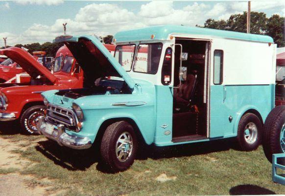 1957 Chevy Milk Truck Google Search Chevy Trucks Classic