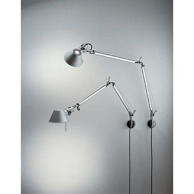 Artemide Tolomeo Classic Swing Arm Wall Lamp Allmodern With Images Tolomeo Wall Lamp Wall Lamp Swing Arm Wall Lamps
