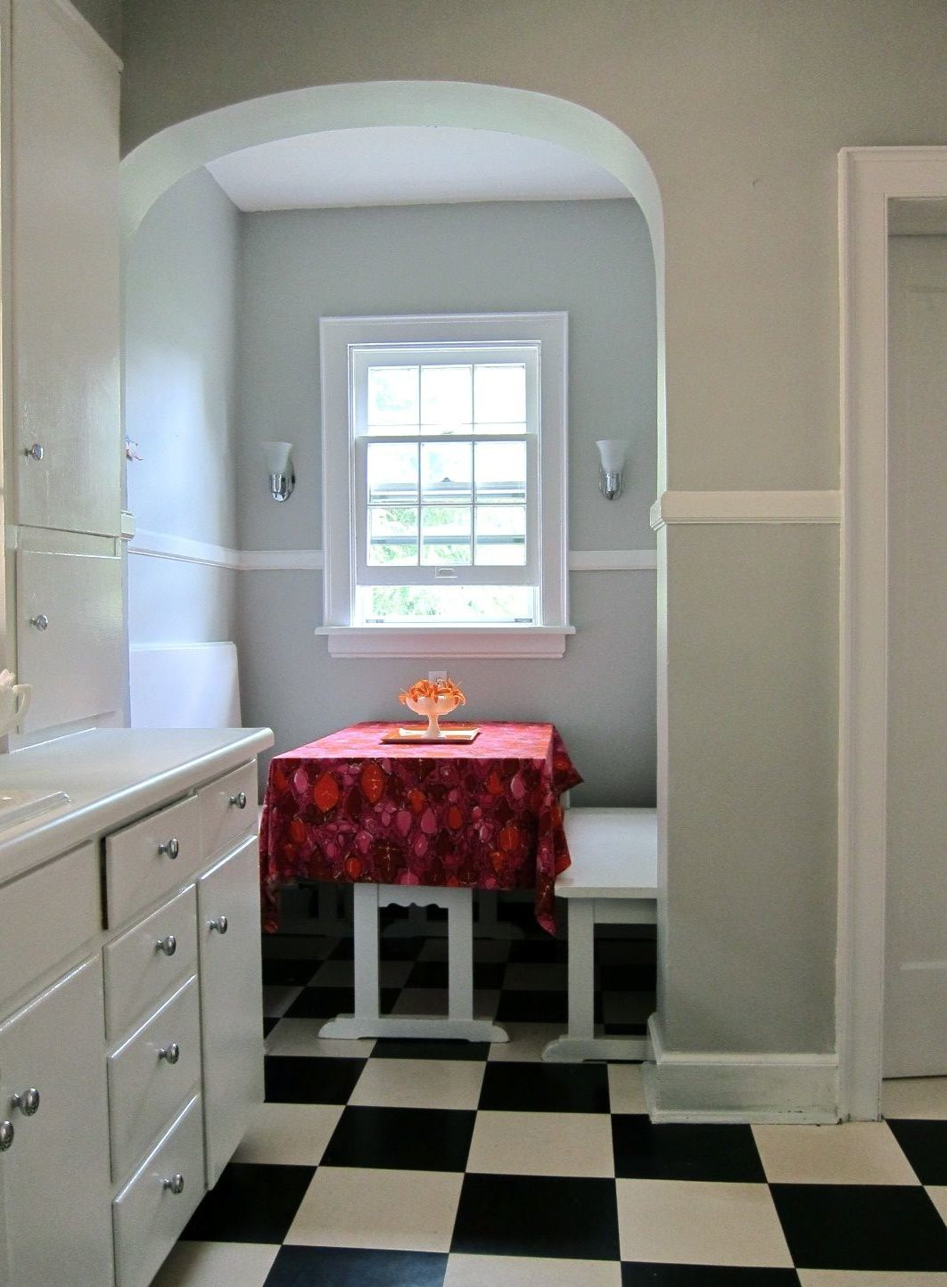 Paint silver chain by benjamin moore