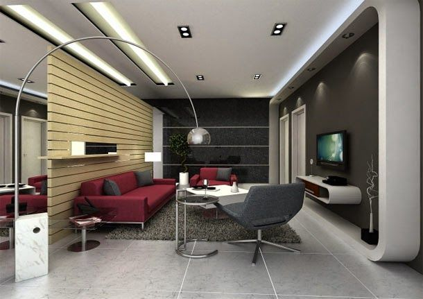 Catchy Living Room Designs And Ideas In High Tech Style Modern