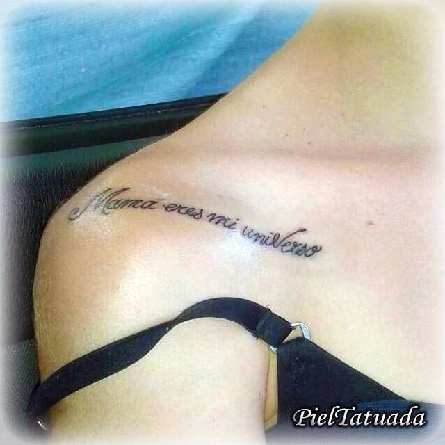Piel Tatuada On Tatuajes Escritos Tatuajes Tatuajes De Plumas