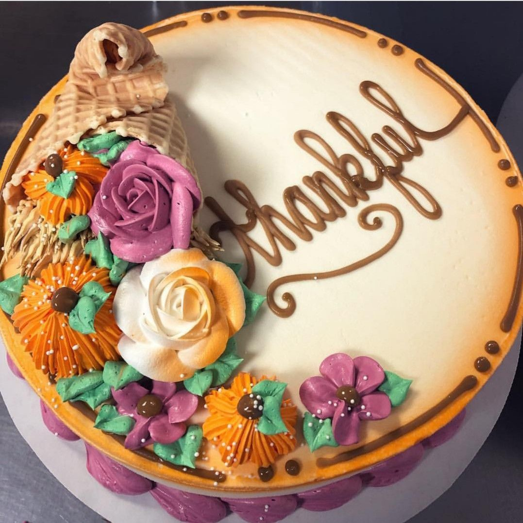 Pin By Samye Westad On Cakes Holiday Cakes Cookie Cake Designs Fall Cakes Decorating
