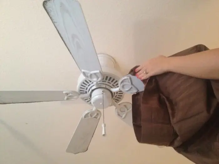 Cleaning Paddle Ceiling Fan Blades The Easy Way Today S Homeowner Ceiling Fan Blades Cleaning Ceilings Cleaning Ceiling Fans