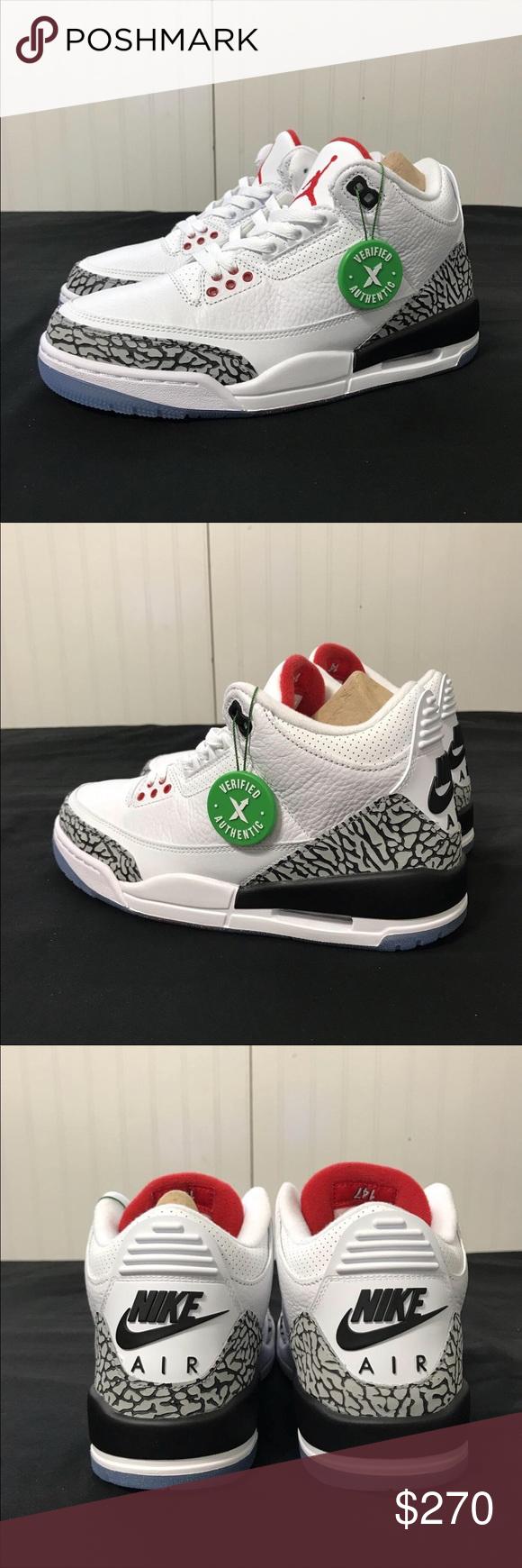 """reputable site 06d45 fa6a0 Air Jordan 3 Nike OG """"Free Throw Line"""" StockX StockX ..."""