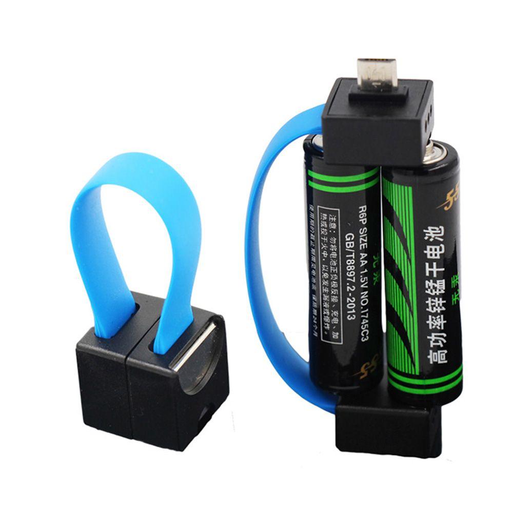 мини портативный магнитная Aaaaa батарея питание Micro Usb