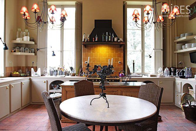 Cuisine Moderne Et Tomette C Mires Paris Maisons - Promotion cuisiniere pour idees de deco de cuisine