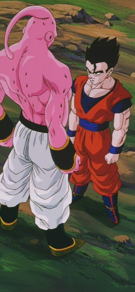 Gohan Vs Super Buu Personajes De Dragon Ball Dragones Saga De Majin Boo