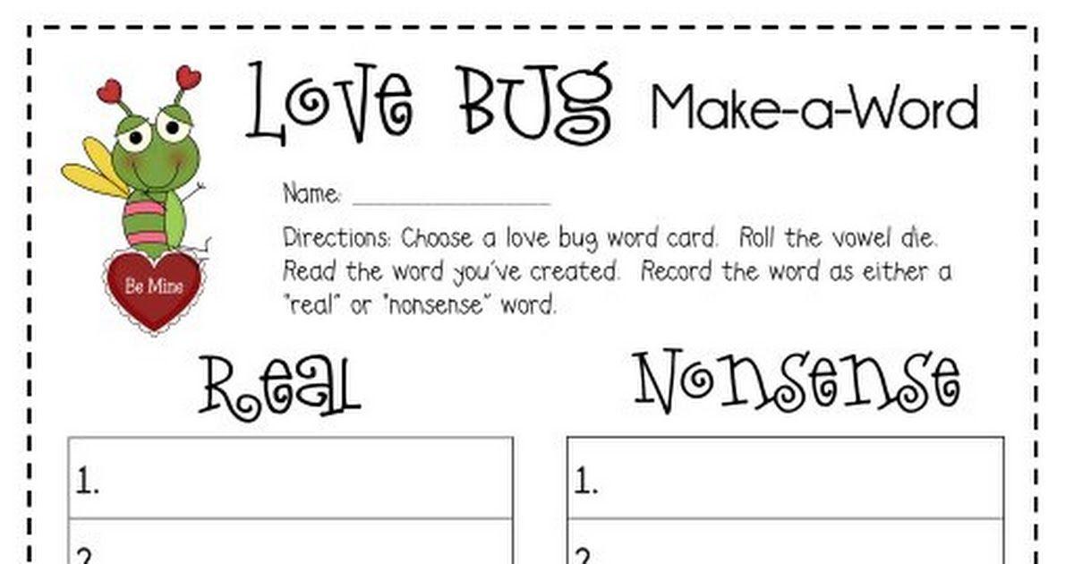 Love Bug- Make a word.pdf