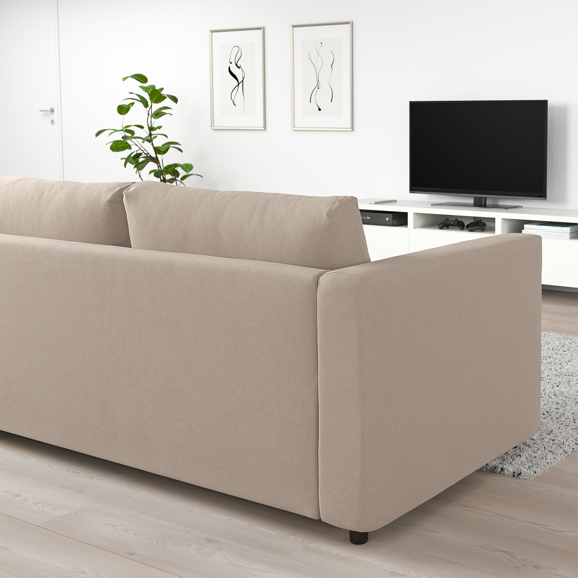 Ikea Vimle Sofabed With Chaise Open End Tallmyra Beige Sofa Bed Frame Sofa Back Cushions Ikea