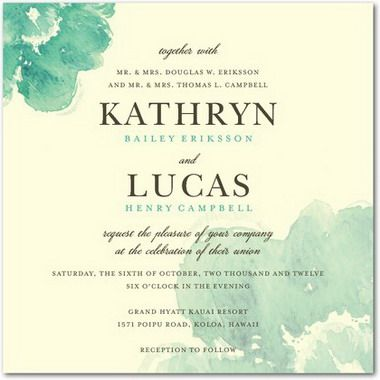 Creative Wedding Invitation Wording