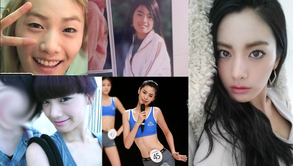 10 Female Idols Before And After Female Kpop Girls Most Beautiful Faces
