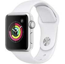 Apple Watch Series 3 GPS 38MM Silver Aluminum Case with