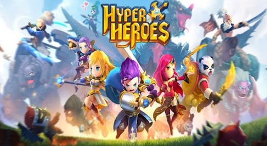 hyper heroes mod apk unlimited money