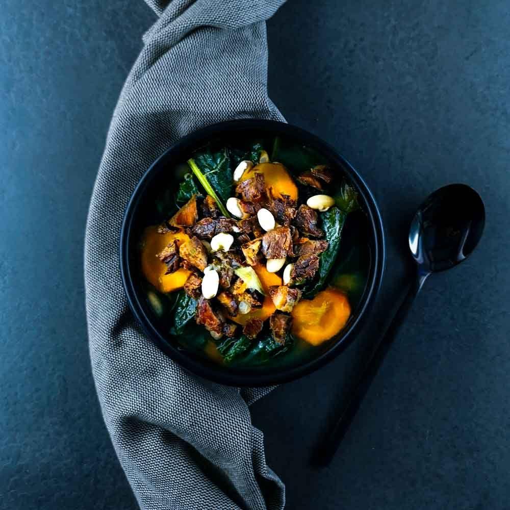 Garbure légère au chou kale | Recette (avec images) | Chou