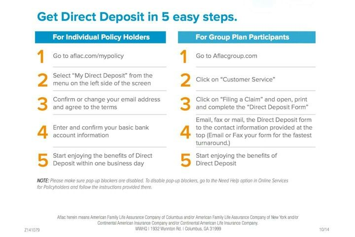 Get Your Claim Paid Next Day Direct Deposit Right Into Your