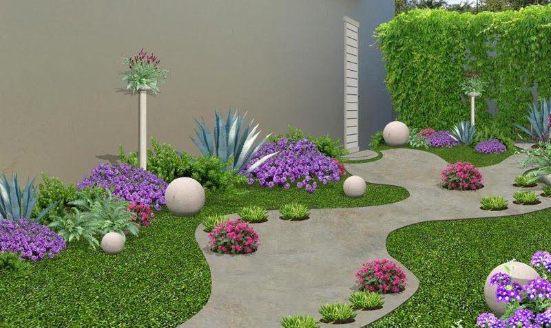 Como disenar un jardin google search blanca for Lindos jardines pequenos