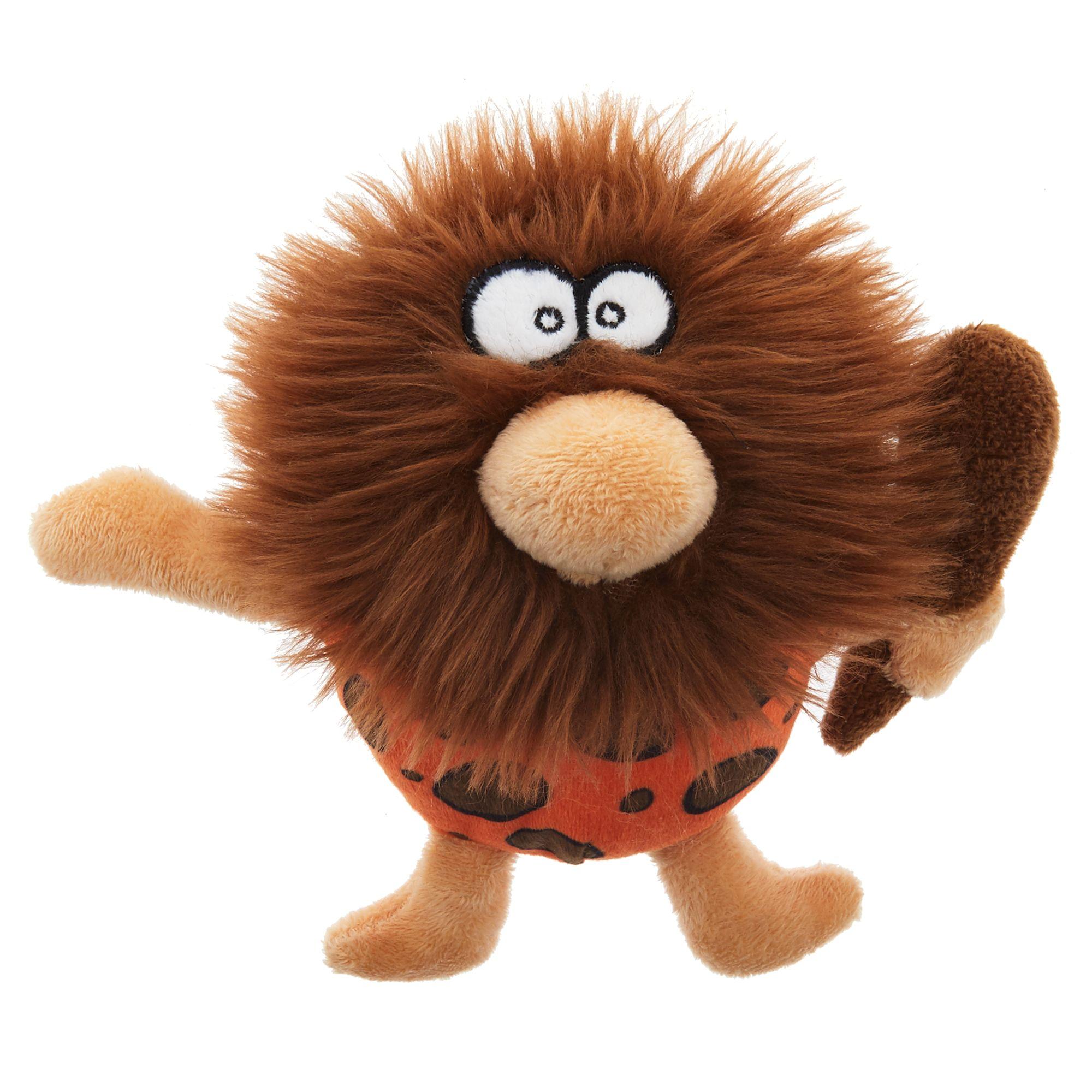 Top Paw Caveman Dog Toy Plush Squeaker Petsmart Dog Toys