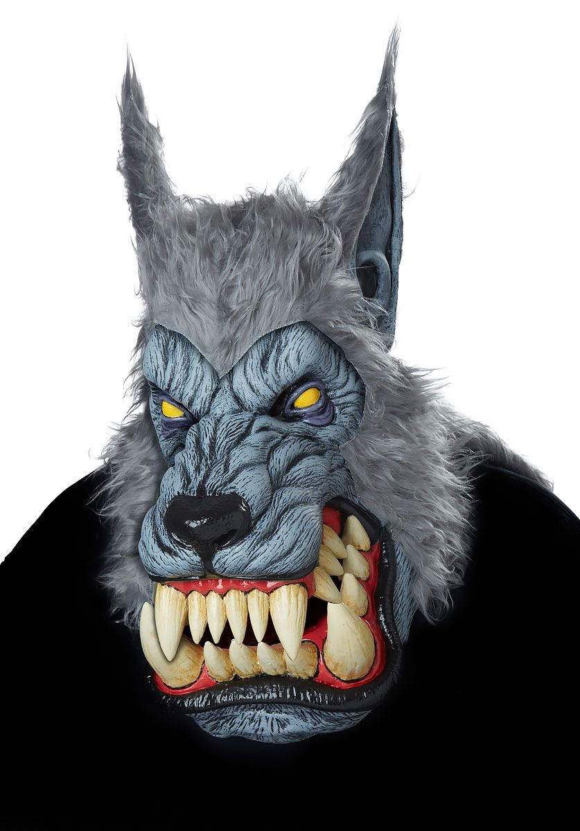 Lunar Werewolf Mask Halloween Horror Masks at Escapade