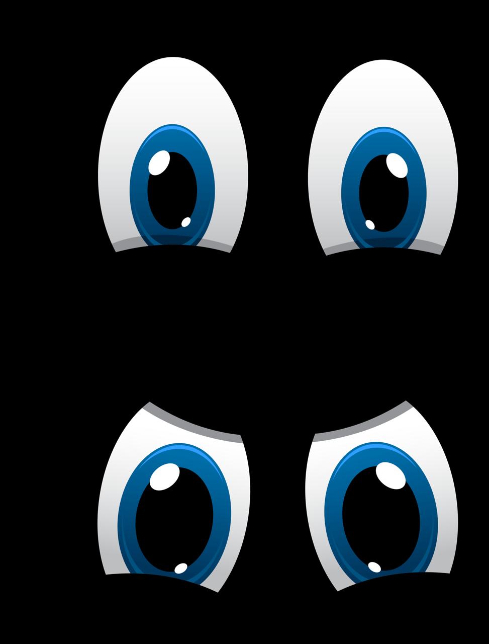 Картинка мультяшного глаза
