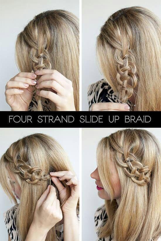 The Slide Up Braid Hair Styles Hair Romance Hair