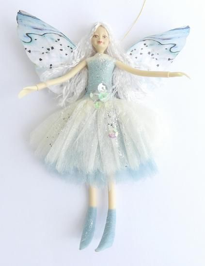 Nz White Paua Shell Fairy Doll Fairy Decor Nz Gift Fairy Dolls