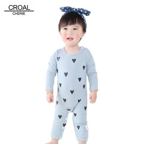 d9b27aa8fff3 0-24 Months High Quality New Born Baby Girls Boy Romper Clothes Cute ...