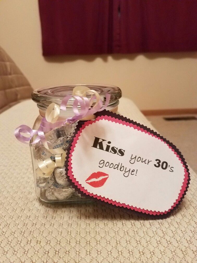 Kiss Your 30s Goodbye 40 Years Old Birthday Gift