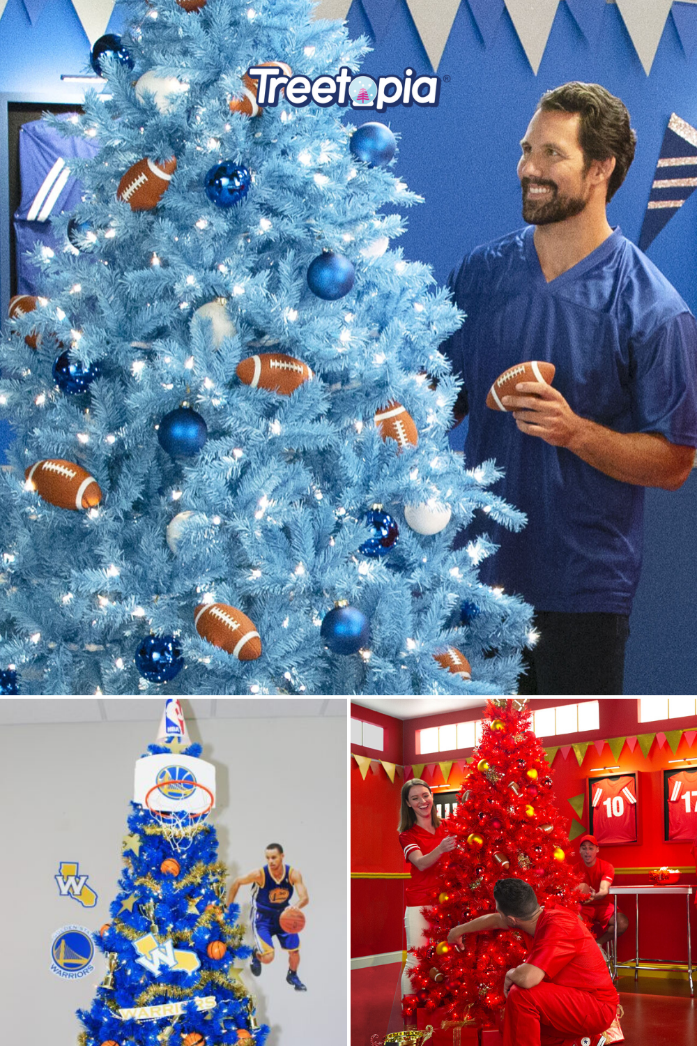 Sporting Events On Christmas Eve 2020 Sports Themed Christmas Trees in 2020 | Christmas tree themes
