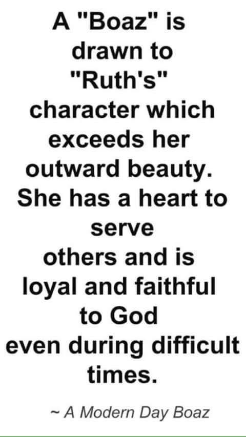 Biblical dating advice boaz