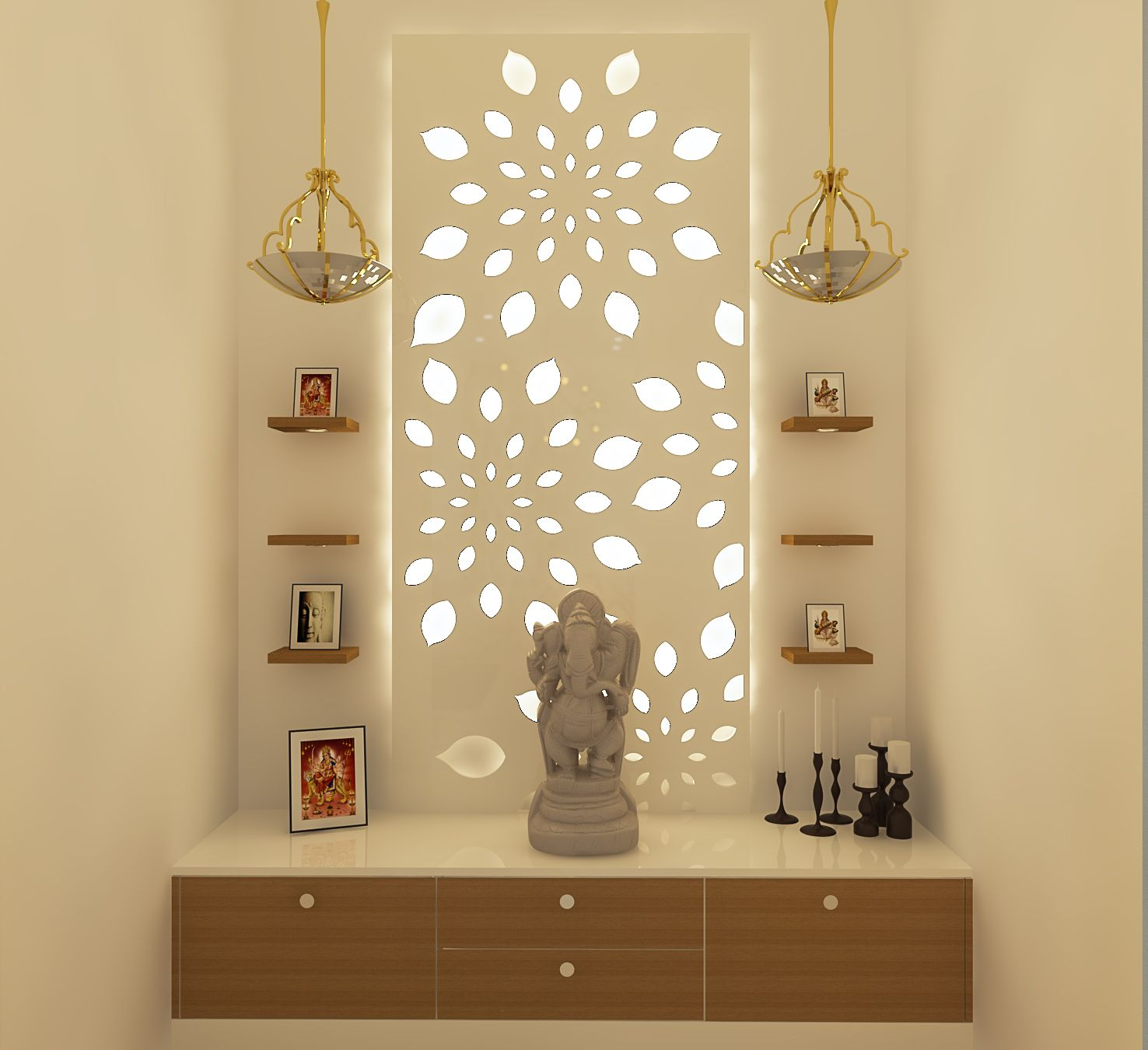 Pooja Room Bonito Designs In 2020 Pooja Room Door Design Pooja Rooms Room Door Design