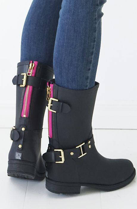 spätester Verkauf damen gut aussehen Schuhe verkaufen Colors of California Rain boots / Plain Vanilla   Boots ...