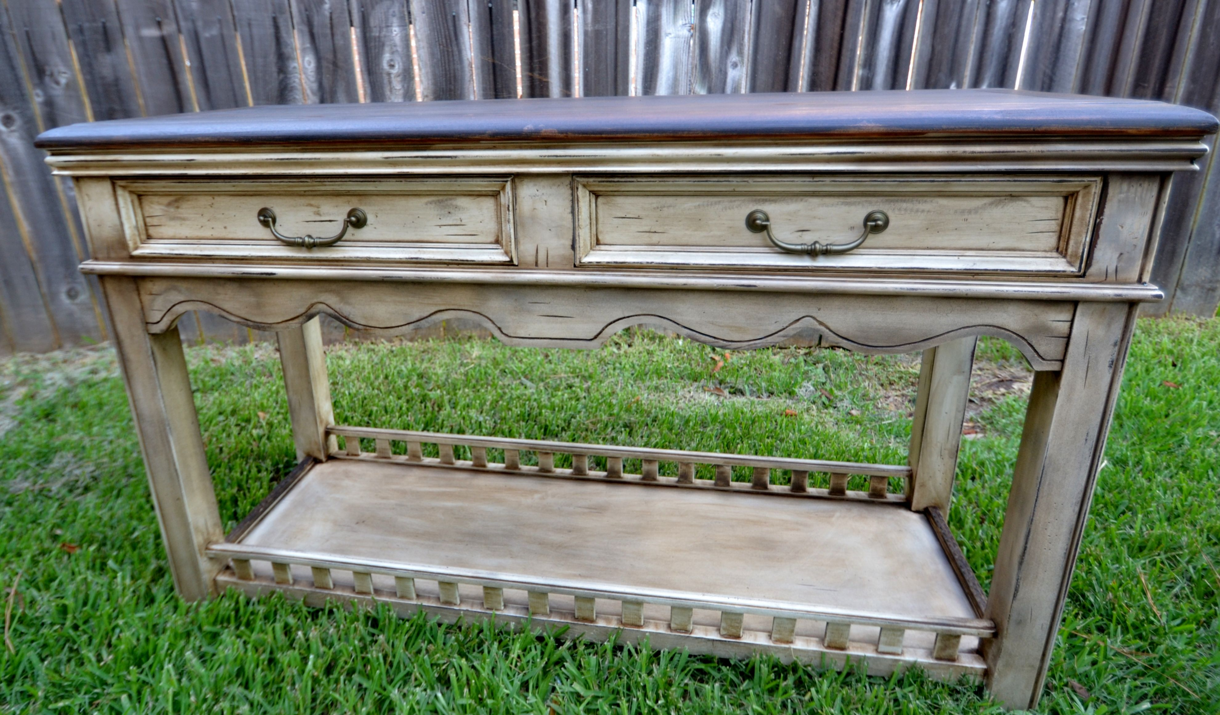 My Latest Project Sofa Table Jacobean Minwax Stain For