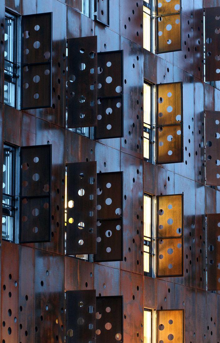 Edificio con estructura de acero #steel #structures