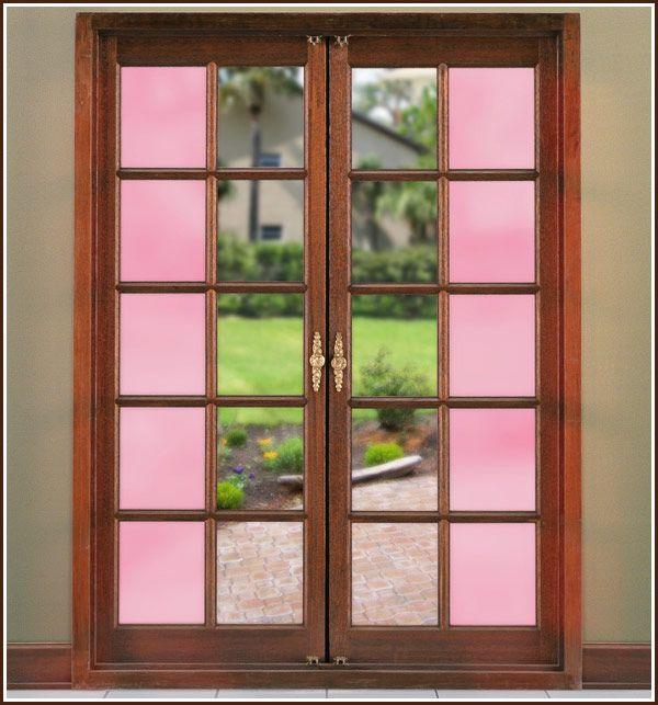 Color Tint Dusty Rose Window Film Window Tint Film Decorative