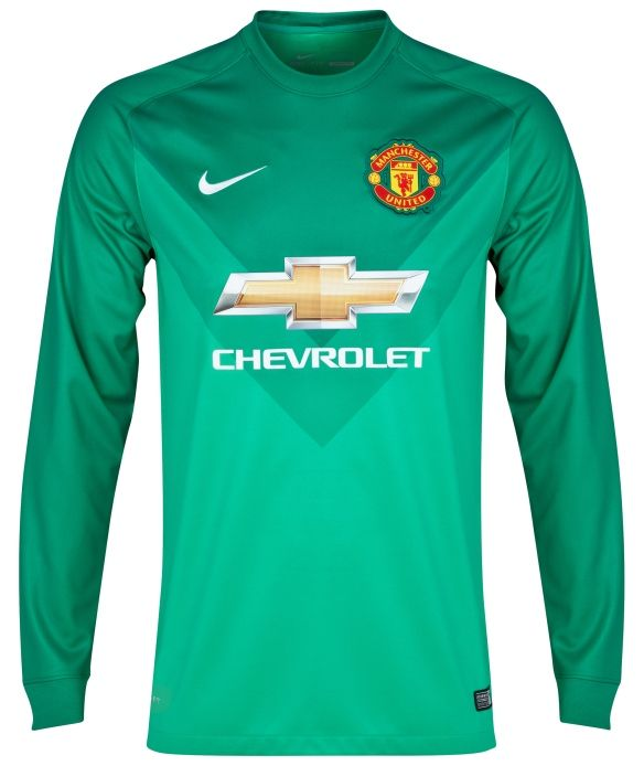 0467cda820e Manchester United Goalkeeper Kit 14/15- Nike | Sport Shirts ...