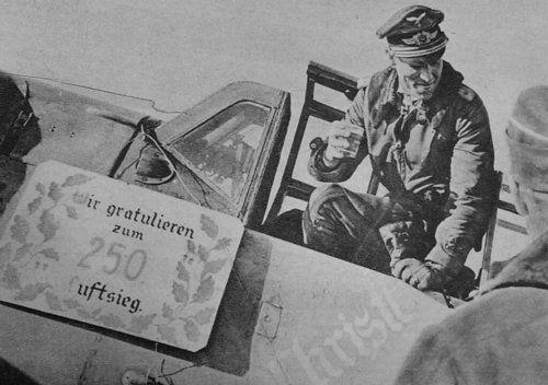 """Me-109 G Gerhard """"Gerd"""" Barkhorn"""