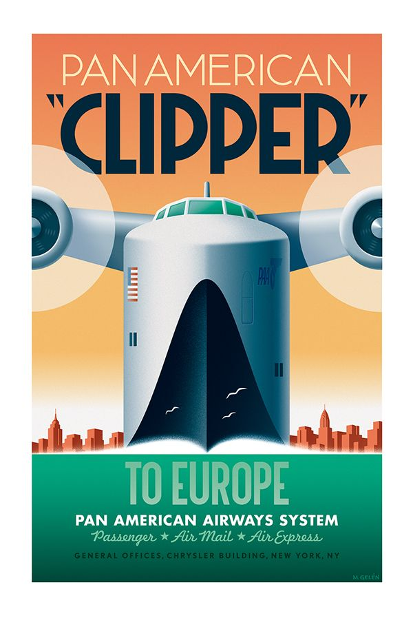 PanAmerican Clipper on Behance